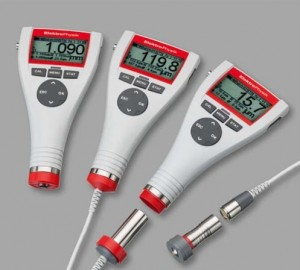 Coating Thickness Gauge MiniTest 700 series with digital micro sensor will collect, filter and process measurement values ensuring temperature variations will not affect measurement.